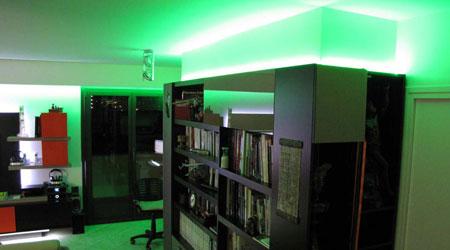 galerie photos de nos clients utlisant du ruban led et du n on led flexible. Black Bedroom Furniture Sets. Home Design Ideas